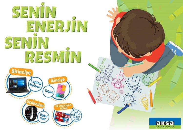 Türkiye'nin 81 ilinden tüm çocuklar Aksa Elektrik'in resim yarışmasına davetli