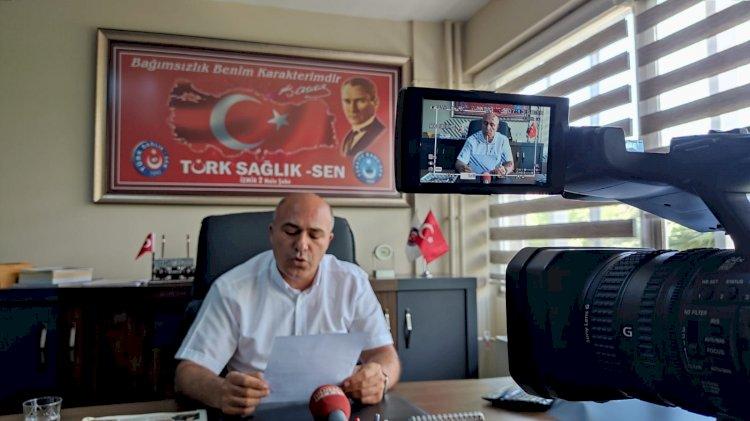 İzmir'de sağlık çalışanlarının kördüğüm olan nöbet sorunu.