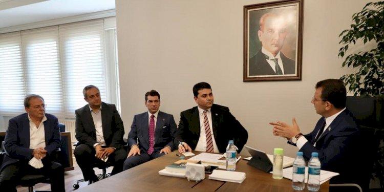 """DAVUTOĞLU'NDAN İMAMOĞLU'NA """"KANAL İSTANBUL"""" DESTEĞİ"""