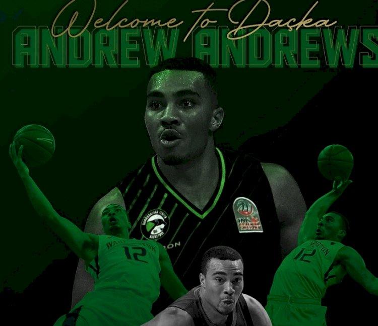 Andrew Andrews Darüşşafaka Tekfen'de!