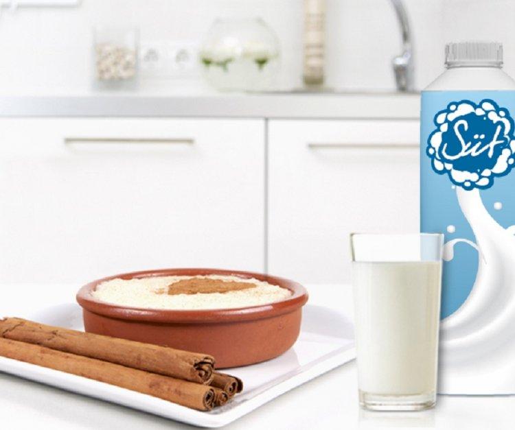 Süt içmeyi sevmeyen çocuklara, tatlı bir alternatif: