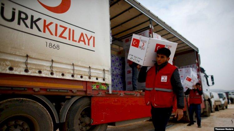 Suriye'de Kızılay Ekibine Silahlı Saldırı Düzenlendi