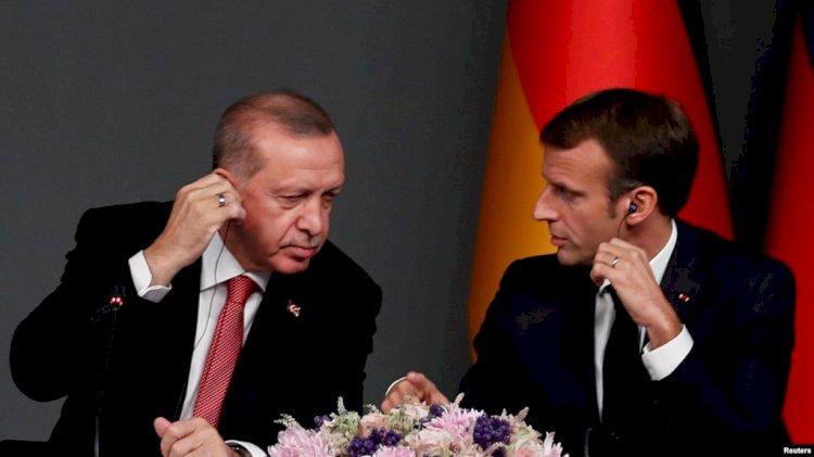Erdogan ve Macron Telefonda Görüştü