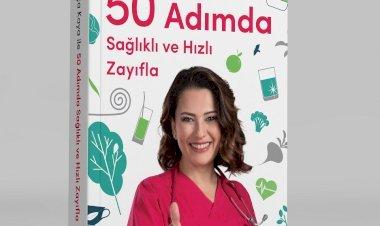 50 Adımda Sağlıklı ve Hızlı Zayıfla' Hurriyet Kitap Etiketiyle Raflarda