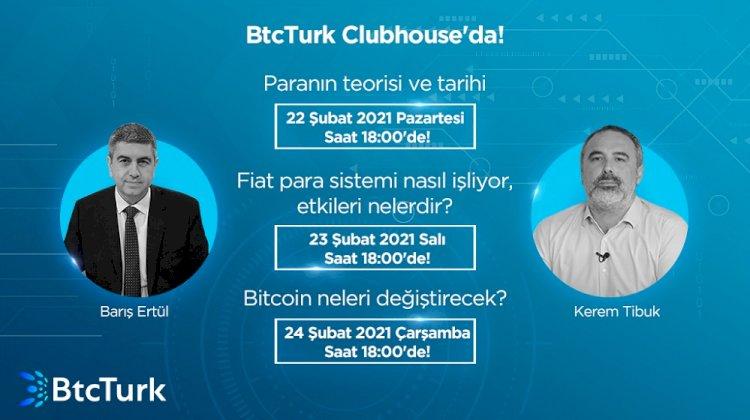 Bitcoin, BtcTurk ile Clubhouse'da Masaya Yatırılıyor