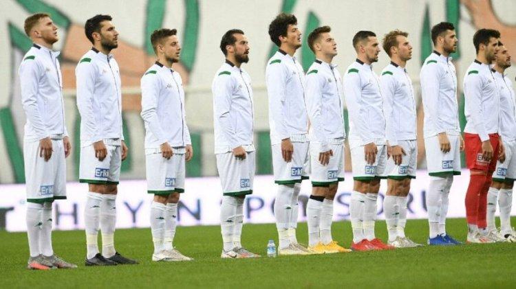 Bursaspor futbolcularından maaş göndermesi: Peygamberimiz buyurdu…