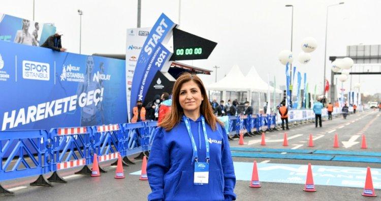 N Kolay 16. İstanbul Yarı Maratonu'nda start verildi