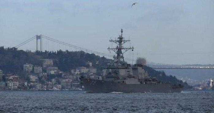 ABD savaş gemilerini Karadeniz'e yollamaya hazırlanıyor
