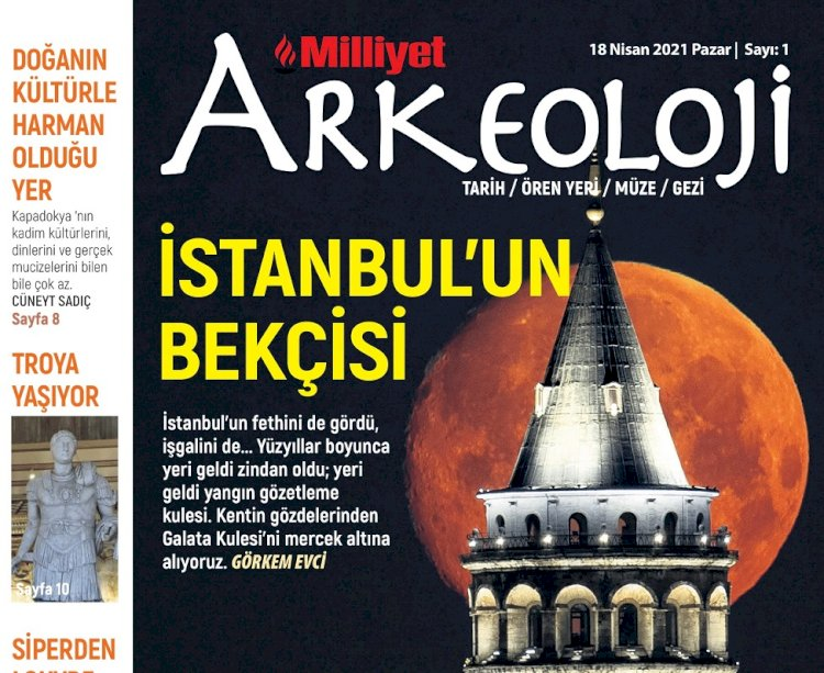 """Milliyet Arkeoloji Dergisi ile """"Nefes Alın"""""""
