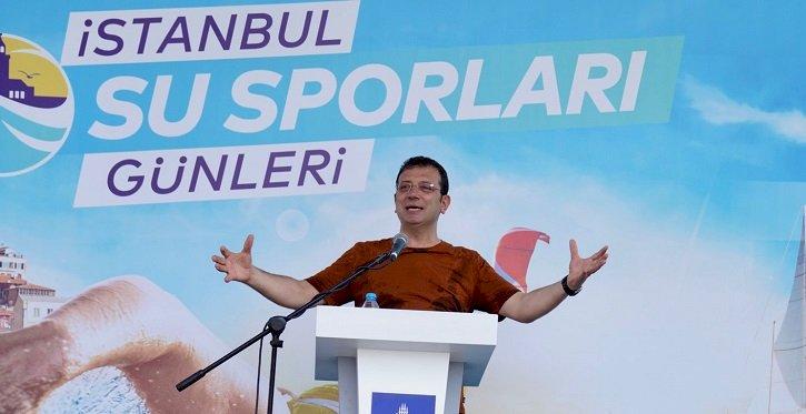 """BAŞKAN İMAMOĞLU: """"2036 OLİMPİYATLARINI İSTANBUL'A GETİRMEKTE İDDİALIYIZ"""""""