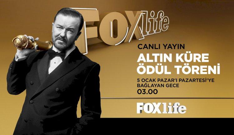 77. Altın Küre Ödülleri Canlı Yayınla FOXLIFE Ekranlarında