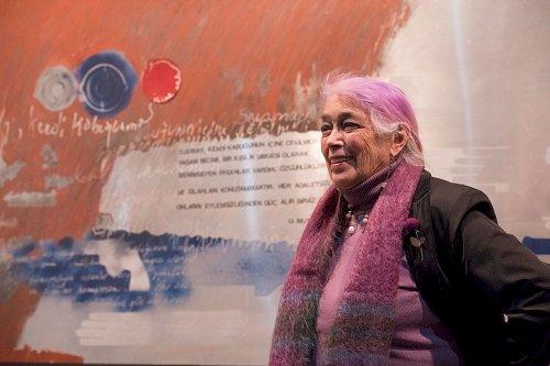"""Tomur Atagök""""Döngüsel İzler"""" ile Kibele Sanat Galerisi'nde"""