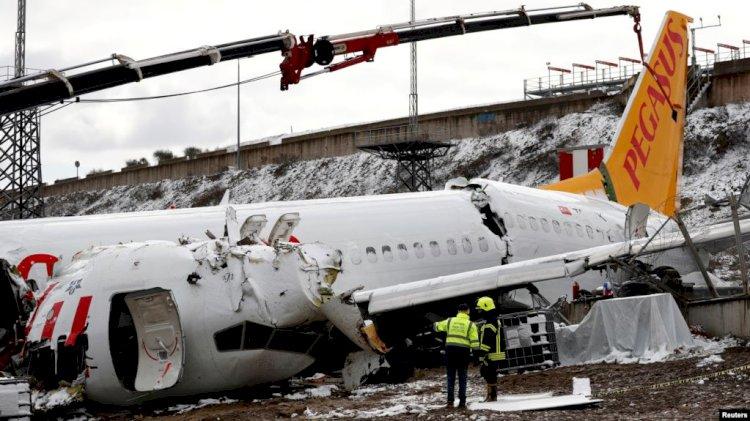 Pegasus Uçağında İncelemeler Bitti Enkaz Kaldırılıyor